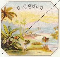 Fin 1800 étiquette Boite à Cigare ORONICO - Etichette