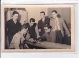 ECHECS (chess) : Lot De 5 Cartes Photos D'un Tournoi à Vienne En 1943 (Autriche) - Tres Bon Etat - Echecs