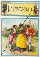 Fin 1800 étiquette Boite à Cigare LA RIVALIDAD - Etiquettes