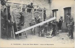 1285   TOURCOING : Ecole   Des Petits Metiers   Leçon  De Maçonnerie - Tourcoing