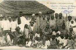 367. CPA SENEGAL. CHEF INDIGENE ET SA SUITE - Senegal