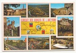 CIRCUIT DES GORGES DE L AVEYRON - Maps