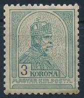 ** 1900 Turul 3K 'b' Számvízjelállás (132.000) - Stamps