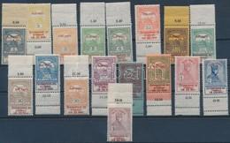 ** 1914 Hadisegély Próbanyomat ívszéli Sor Számos Lemez- és Felülnyomat Hibával (100.000) - Stamps