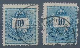 O 1879 Bosnyák 'K.u.K. ETAPPEN-POSTAMT' Bélyegzésekkel 2 Db 10kr RR! (70.000/db) - Stamps