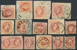 O 1867 14 Db Bélyeg Ill. Kivágás Szép Bélyegzésekkel (Gudlin 2.880 Pont) - Unclassified