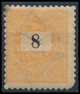 ** 1899 8kr Számvízjellel (80.000) (rövid Sarokfog / Short Corner Perf.) - Stamps