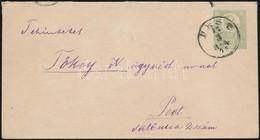 1873 I. Tipusú Könyvnyomású 3kr Díjjegyes Boríték Helyi Levélként 'PEST' (75.000) - Stamps