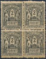 ** 1873 Távirda 2Ft Négyestömb (72.000) (patina) - Unclassified