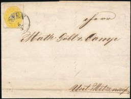 1863 2kr 14-es Fogazással Levélen 'OFEN' (70.000) - Stamps
