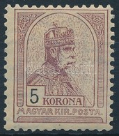 * 1900 Turul 5K 4. Vízjelállás (70.000) - Stamps