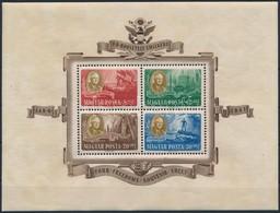 ** 1947 Roosevelt Blokkpár (50.000) (ráncok / Creases) - Stamps