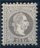 ** 1867 25kr Kifogástalan állapotban! Certificate: Mauthen - Stamps