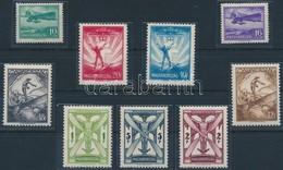 ** * 1933 Repülő II. Sor, 20f, 40f, 5P Falcosak (40.000) - Stamps
