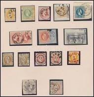 O 1867 Kis összeállítás Berakólapon - Stamps