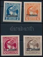 * KuK Feldpost 1918 Hírlapbélyegek Olaszország Részére Vágott Sorozat (* 38.000) - Stamps