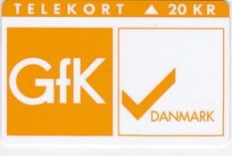 Denmark, KP 134, Gfk, Danmark, Mint 20 Kr, Only 1.000 Issued, 2 Scans. - Dänemark