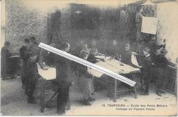 1287   TOURCOING : Ecole   Des Petits Metiers   Leçon   Collage De  Papiers Peints - Tourcoing