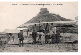 Grand Prix Michelin : Renaux Au Puy De Dome - Aviation