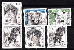 Suède 1994 Mi.Nr.: 1804-1807 Haustiere   Oblitérés / Used / Gestempeld - Sweden