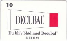 Denmark, P 187, Decubal, Only 1800 Issued, 2 Scans. - Denmark