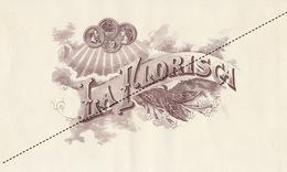 1893-1894 Grande étiquette Boite à Cigare Havane LA FLORISCA - Etichette