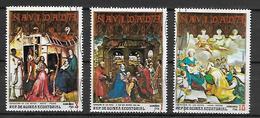 GUINEE  EQUATORIALE      -  PEINTURES   /  Adoration Des Mages   -       Oblitérés  . - Guinée Equatoriale