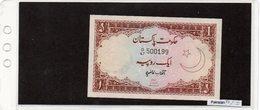 Banconota Pakistan  1 Rupie - Pakistan