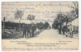 Gruss Aus Beho Liège Maldingen Gillet Vielsalm 1910 - Belgique