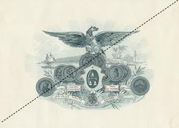 1893-1894 Grande étiquette Boite à Cigare Havane EL CULTIVO - Etiquettes