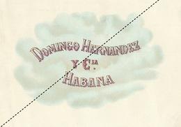 1893-1894 Grande étiquette Boite à Cigare Havane LA VERDAD - Etichette