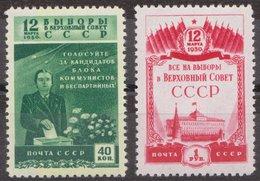 Russia 1950 Mi 1446-1447 MNH OG ** - 1923-1991 URSS