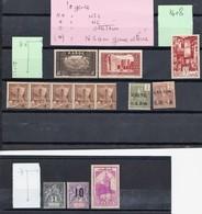 Ex Col Françaises  N 09----voir  Scans--port En Plus - Briefmarken