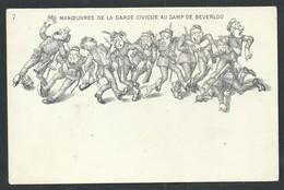 +++ CPA - LEOPOLDSBURG - Manoeuvres De La Garde Civique Au CAMP DE BEVERLOO - Militaire - Illustrateur ?  // - Leopoldsburg (Camp De Beverloo)