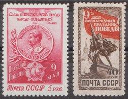 Russia 1950 Mi 1473-1474 MNH OG ** - 1923-1991 URSS