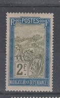 Madagascar  -1908    N° 109  Neuf X - Madagascar (1889-1960)