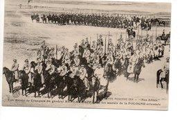 Une Sotnia De Cosaque Du General RENEMKAMPF En Pologne - Guerres - Autres