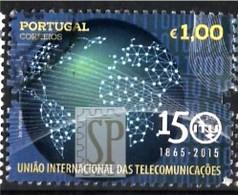 Portugal 2015 Telecomunicações UIT 150 Anos 150ème Anniversaire ITU 150 Years Of Connecting The World - 1910-... Republik