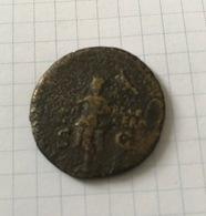 GERMANICUS JULIUS CAESAR CHARIOT AUTHENTIC ANCIENT ROMAN COIN OF CALIGULA - 1. Les Julio-Claudiens (-27 à 69)