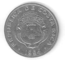 COSTA RICA - 2 COLONES 1954 - Costa Rica