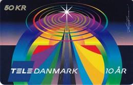 Denmark, P 352, Tele Danmark 10 Years, Mint, 2 Scans - Denmark