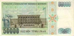 TURKEY P. 203a 50000 L 1989 UNC - Turkije
