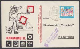 """1432, EF """"Rostock"""", Blauer L3 """"Pionierschiff Vorwärts"""" - DDR"""