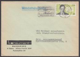 """2338, EF Auf """"Wirtschaftsdrucksache"""", Dessau, 4.9.78 - DDR"""