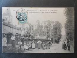 76 - Houquetot - CPA - Un Coin Du Village - Environs De Goderville - N° 380 - TBE - 1908 - - France