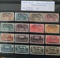 AFRIQUE EQUATORIALE FRANCAISE 1936 - No 16/16 - Guinée Equatoriale