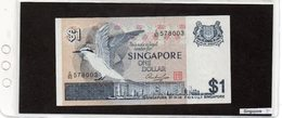 Banconota Singapore 1 Dollar - Singapour