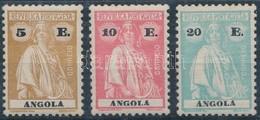 ** Angola 1923/1926 Záróértékek - Stamps