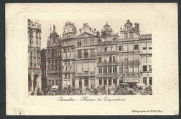 +++ CPA - BRUSSEL - BRUXELLES - Maison Des Corporations  // - Bruxelles-ville