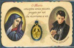 °°° Santino - San Gabriele Dell'addolorata Con Medaglia  °°° - Religione & Esoterismo